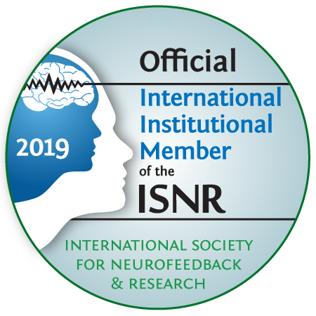 International Society for Neurofeedback and Research – Official Member 2019
